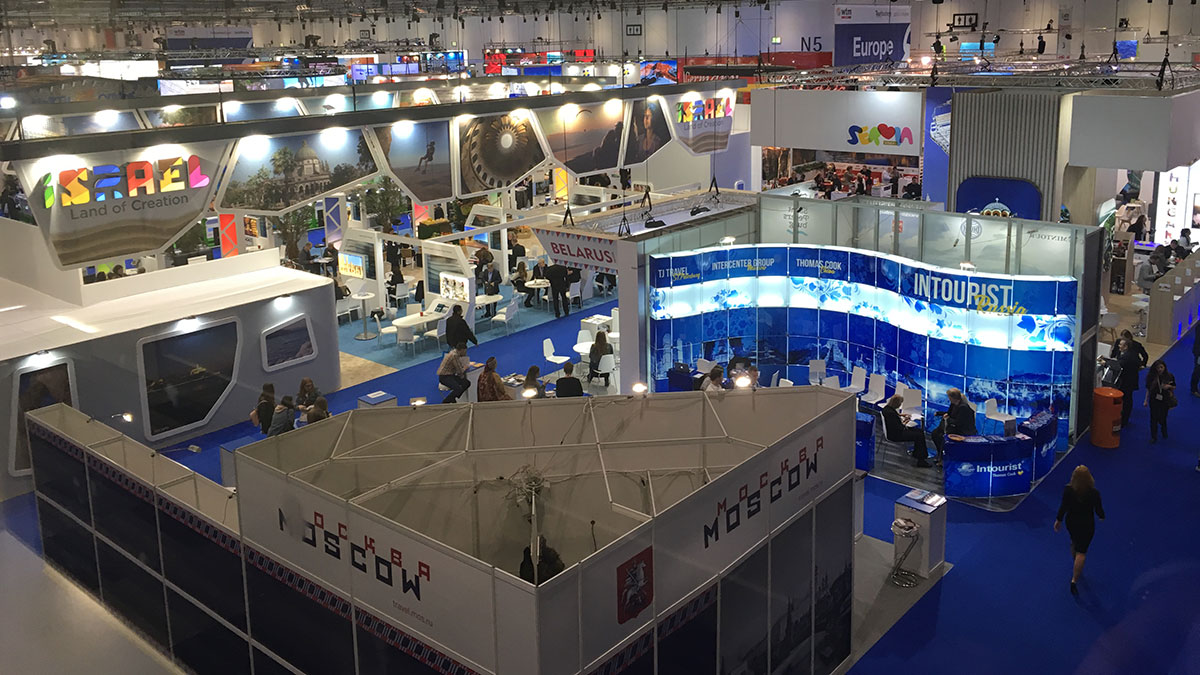 WTM 2017 exhibition