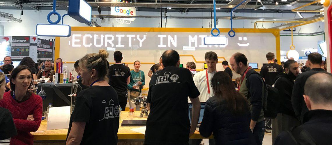 Google Campus exhibition stand at Bett 2018